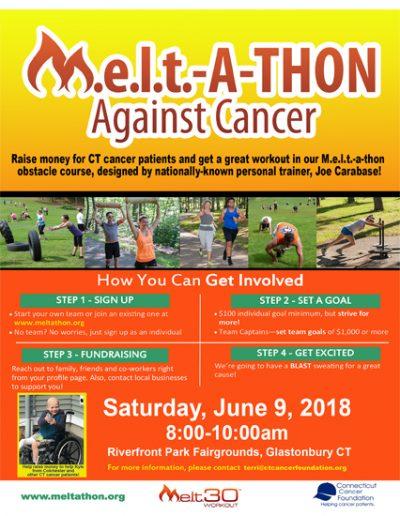 M.E.L.T.-A-Thon Against Cancer