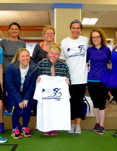 Cycle Against Cancer, New York Sports Clubs West Hartford