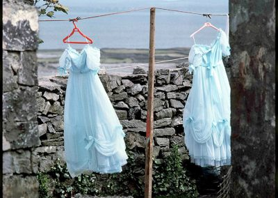 Bridesmaids Dresses, Aran Islands, 1985