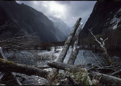 Milford Trek, New Zealand, 1991