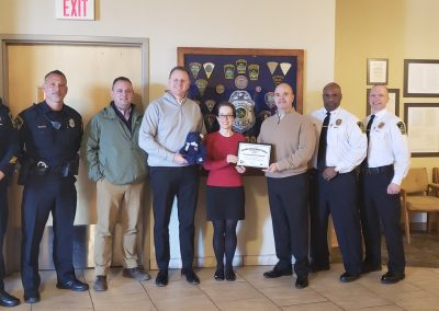 East Hartford PD Certificate Presentation