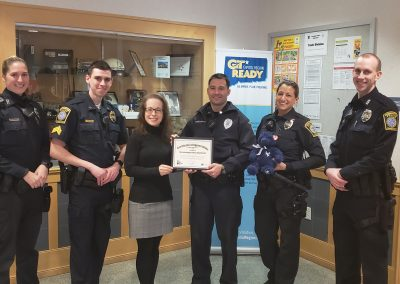 Farmington PD Certificate Presentation