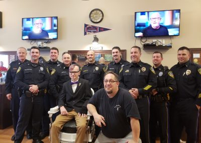 Wallingford PD Shave Off