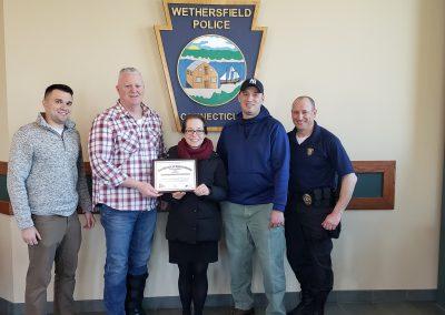 Wethersfield PD Certificate Presentation