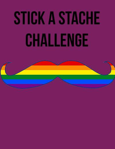 Stick A Stache Challenge