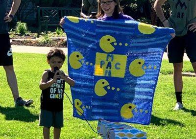 Azi with blanket - Meltathon ambassador