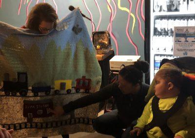 Evan receiving blanket 2